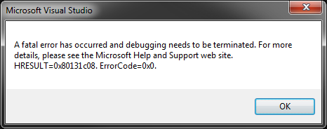 Debug the debugger